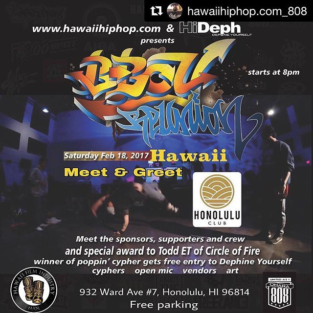 #Repost @hawaiihiphop.com_808 - from Instagram