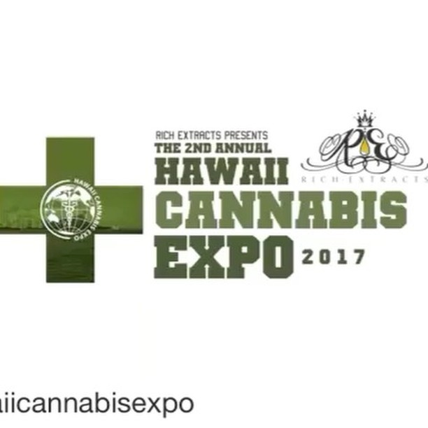 The 2nd Annual @hawaiicannabisexpo presented by @rich.extracts is next weekend. Brought to by @steephillhawaii CB Dream SeedsHereNow.com and Hawaii  Cannabis Care. Over 100  exhibitors, educational seminars, patient information, home growing get essentials,  glass blowers, beer garden and MORE! - from Instagram